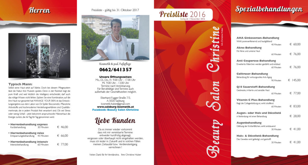 Preisliste 2016 s1